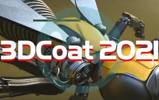 3DCoat 2021.52 Full Version | Tạo mô hình 3D hữu cơ