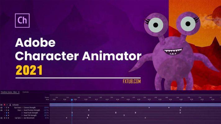 Adobe Character Animator CC 2021