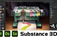 Adobe Substance 3D Full Pack | Design – Painter – Sampler
