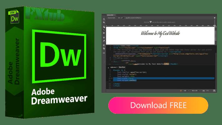 Adobe Dreamweaver 2021