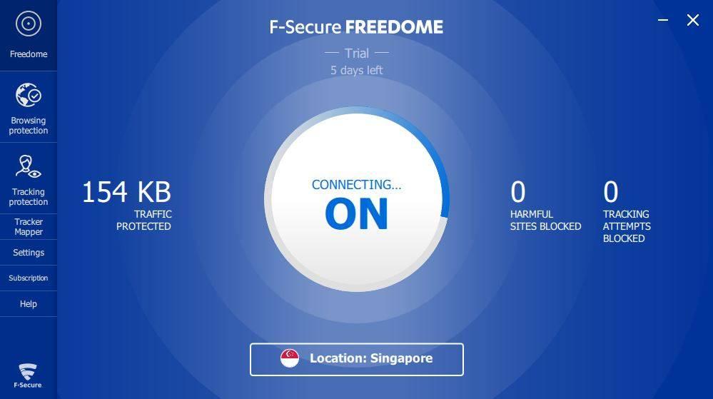 VPN Miễn Phí Cho Máy Tính   F-Secure Freedome VPN 2.43