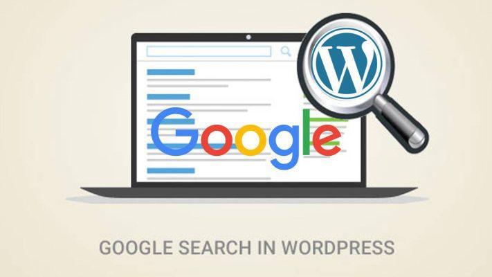 Thêm Google Tìm Kiếm Vào WordPress