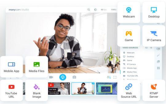 ManyCam 7.8.7 Full Version | Hiệu ứng webcam