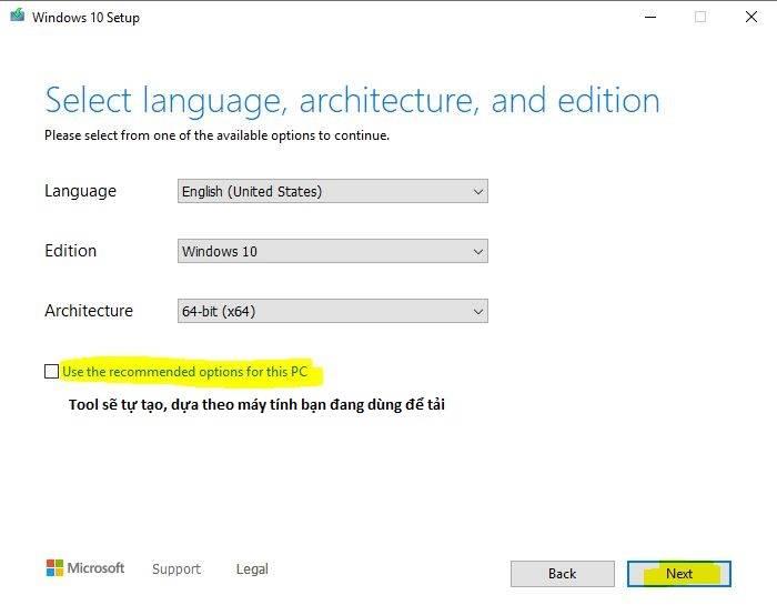 Tải Windows 10 Pro 21H1 từ Microsoft | Google Drive