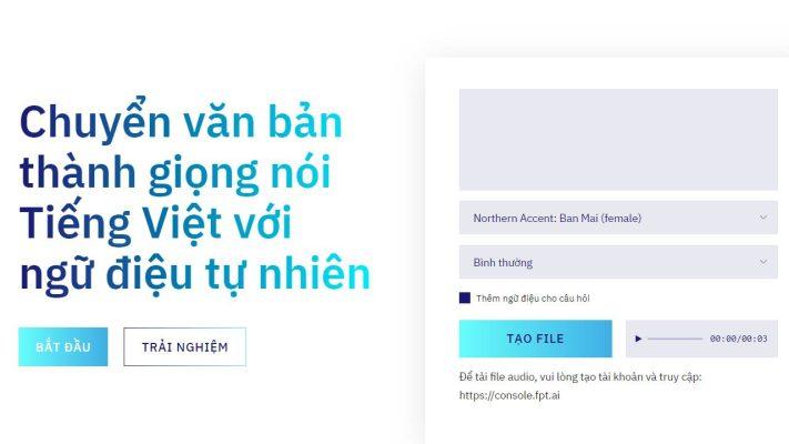 3 Website chuyển văn bản thành giọng nói tốt nhất
