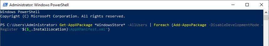 Cách cài đặt Microsoft Store   Install Microsoft Store