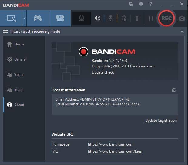 Bandicam 5.2 Full Active | Quay Phim Màn Hình Máy Tính