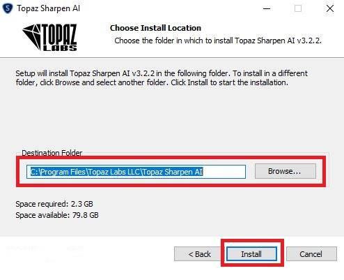 Topaz Sharpen AI 3.2.2 Full Version | Hướng dẫn cài đặt