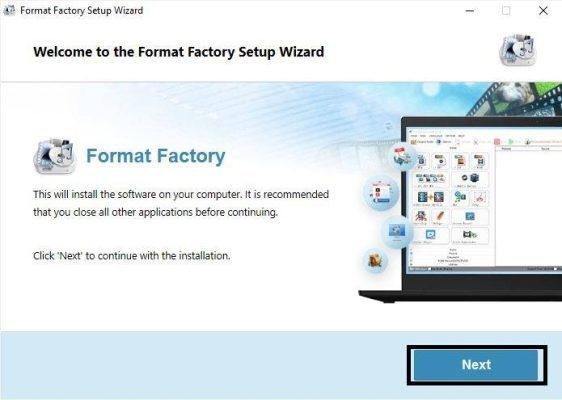 Format Factor Full 2021 - Chuyển đổi định dạng file media